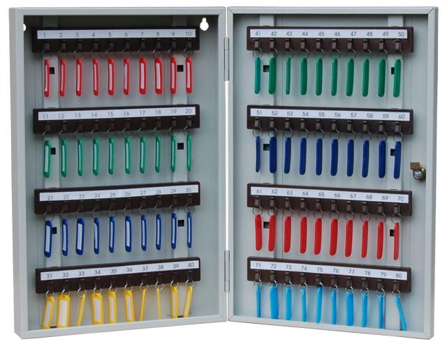 Ящики для хранения ключей металлические